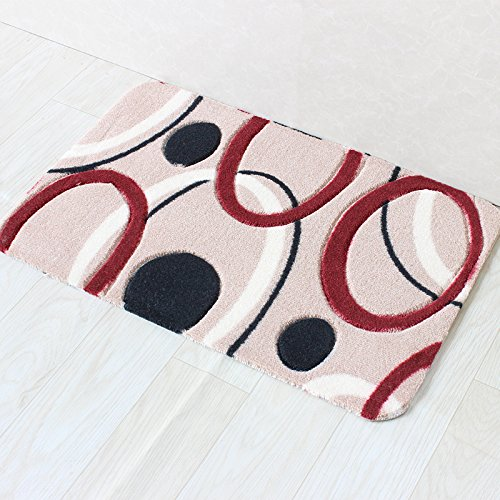 Household mats door mats household mats floor mats bathroom water skid pad -4368cm b by ZYZX