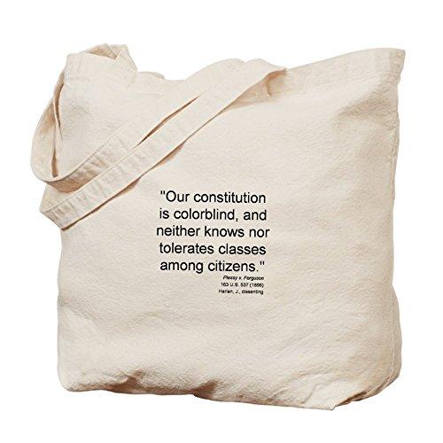 CafePress–Plessy disidencia–Gamuza de bolsa de lona bolsa, bolsa de la compra
