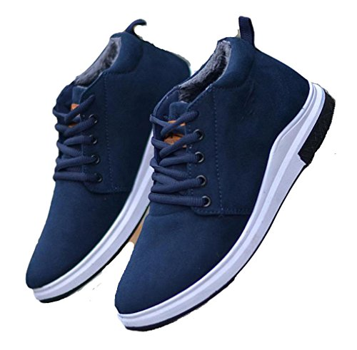 Freizetschuhe JM Schuhe Casual Sneaker Ein Cool blau Herren Bißchen Mode Segeltuch 0wRqP