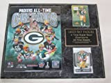 Green Bay Packers All Time Greats 2 Card Collector Plaque w/8x10 Photo