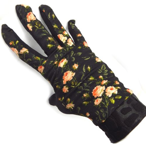 [リリーの宝 (Les Tresors De Lily)] (Blumen コレクション) [K5777] 手袋 ブラック