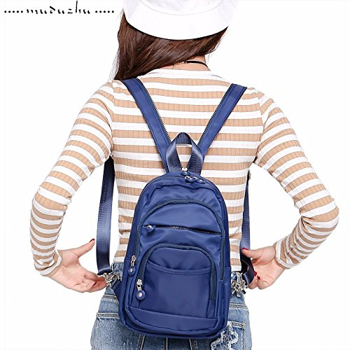 Multi Miniature MSZYZ in avvolto Gules Functional Blue nylon impermeabile Gifts Petto Holiday pacchetto Royal Double Shoulder UqUEgI