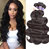 Cheap Brazilian Body Wave 3 bundles 100% Unprocessed Virgin Human Hair Extensions Sale Brazilian Hair Weave bundles 100g Natural Color Can be Dyed (16 18 20)