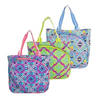 All for Color Tennis Tote (Turq Parade)