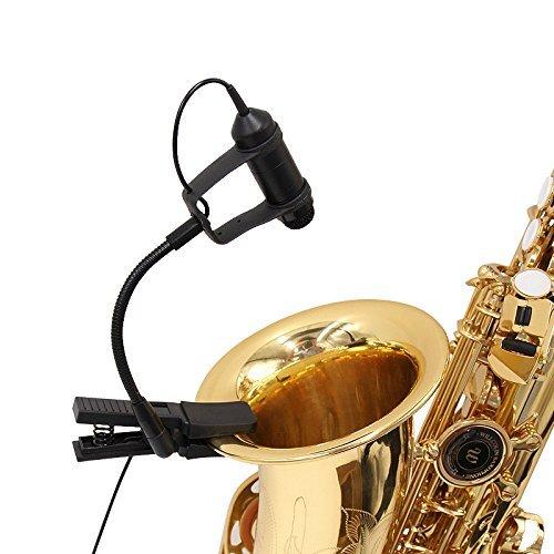 Nicama Cardioid Condenser Clip-on Instrument Saxophone ...