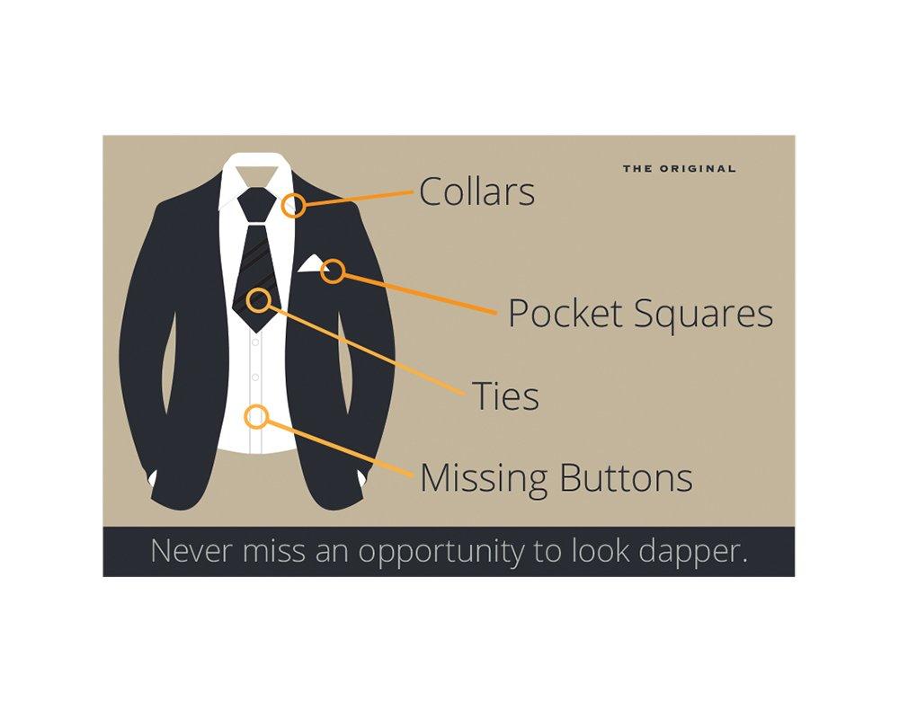 New Clear Plastic Necktie Neck Tie Sleeves 1000 Counts