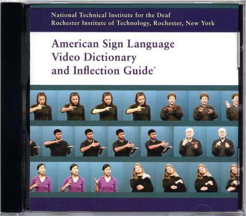 American Sign Language Video Dictionary and Inflection Guide (CD-ROM) by Rochester Institute of Technology Nation (2000-05-03)