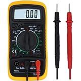 LeeWoo Electrical Digital Multimeter, Handheld Data Hold Electronic Amp, Volt Current Ohm Voltage Meter for Transistor Test & Diode Test, Support Backlight Screen