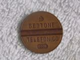 1967 IT Italian Telephone Token un gettone Choice Extremely Fine