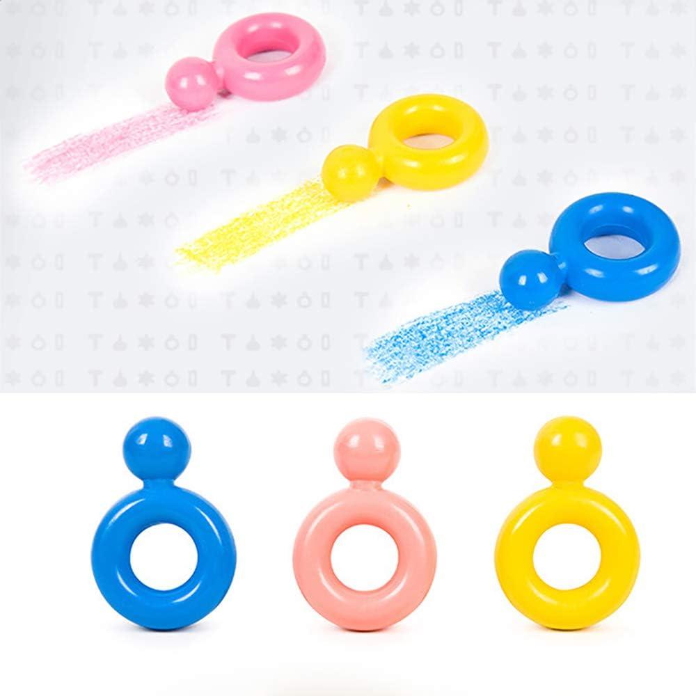 He-art Crayons Palm-Grip pour Tout-Petits Peinture Comestible Non Toxique 12 Couleurs B/éb/é Dessin Ensemble Mignon Jouets pour Enfants B/éb/és Enfants Gar/çons et Filles