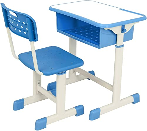 Knocbel Lifting Student Desk and Chair Set