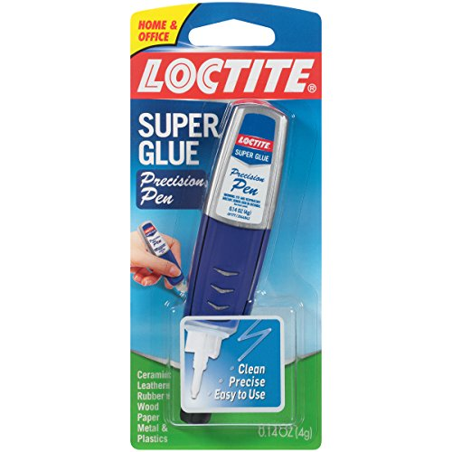 Loctite Super Glue Gel Precision Pen, 4-Gram Pen, 6-Pack (2112877-6)