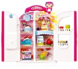 KONGSUNI Series Talking Fridge for Kids, Toy Refrigerator Toy Food Set Real Water Comes Out Toy Water Dispenser