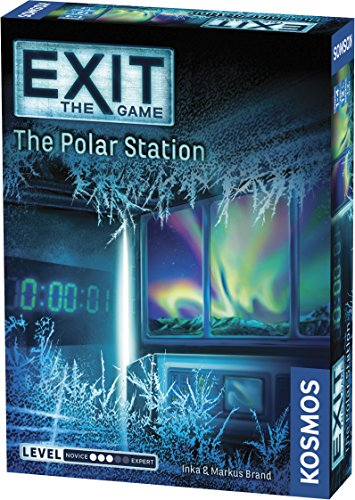 Exit: The Polar Station | Exit: The Game - A Kosmos Game | Family-Friendly, Card-Based at-Home Escape Room Experience for 1 to 4 Players, Ages 12+ (No Retreat Board Game)