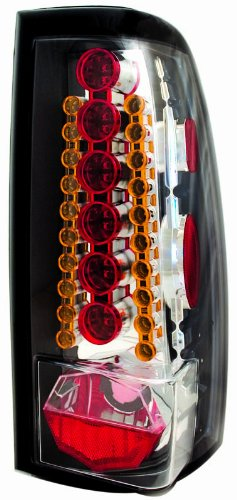 IPCW LEDT-3039CA Crystal Red/Amber LED Tail Lamp - Pair