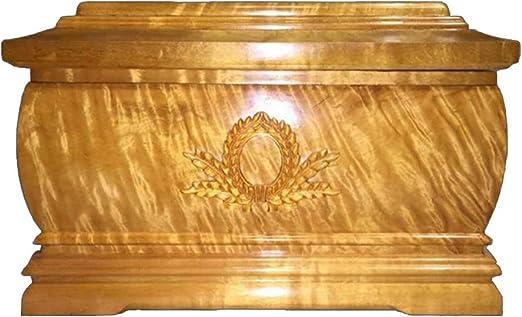 WYPG Caja de cremación, cenicero Humano, Caja funeraria, Caja de ...