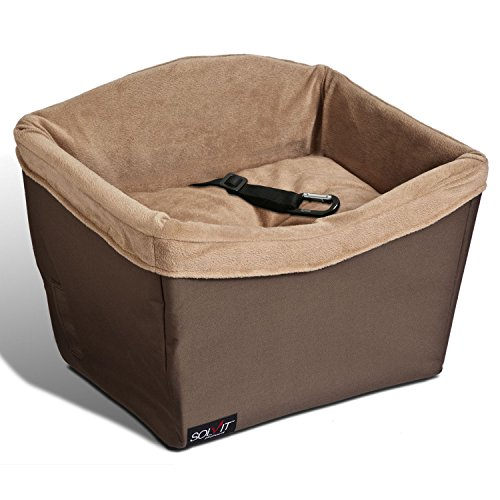 small dog car booster seat - 3