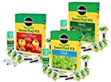Fresh and Tasty Seed Kit Bundle by Aerogarden Tomato Salad Herbs