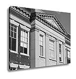 Ashley Canvas Catholic School United States, Wall Art Home Decor, Ready to Hang, Black/White, 16x20, AG6305896