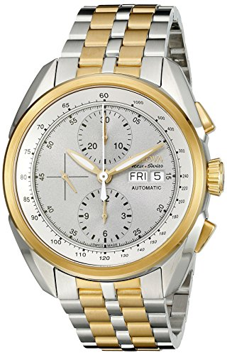Bulova Men's 65C117 Analog Display Automatic Self Wind Two Tone Watch