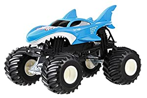 Amazon.com: Hot Wheels Monster Jam Shark Die-Cast Vehicle ...