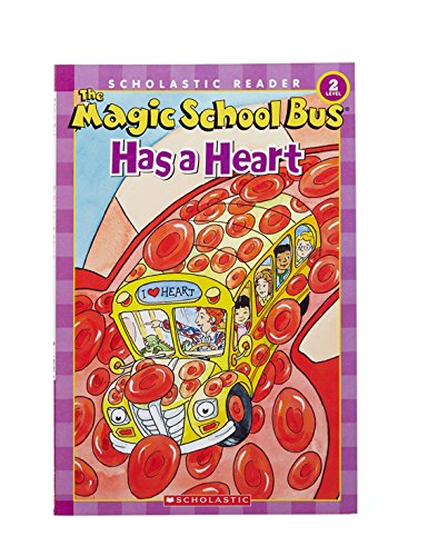 Image: The Magic School Bus Has a Heart (Scholastic Reader, Level 2), by Anne Capeci (Author), Carolyn Bracken (Illustrator), S.I. Artists (Illustrator). Publisher: Scholastic; Scholastic Reader, Level 2 edition (January 1, 2006)