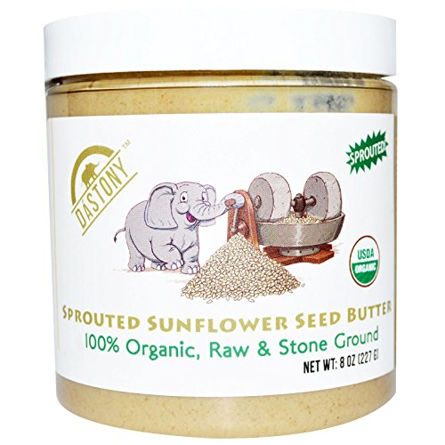 Dastony, 100% Organic Sprouted Sunflower Seed Butter, 8 oz (227 g) Dastony, 100% Organic Sprouted Sunflower Seed Butter, 8 oz (227 g) - 2pcs