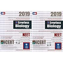 Errorless Biology for NEET Set of 2 Volume 2019 Edition by
