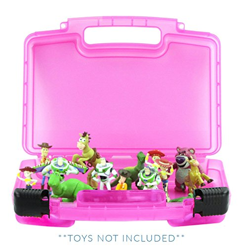 Life Made Better Toy Storage Carrying Box. Compatible with Toy Story Figures ,Figures Playset Organizer. Accessories for Kids by -