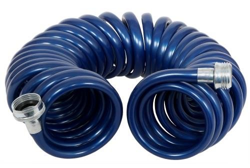 - Rainmaker Revolution Coiled Garden Hose - 3/8