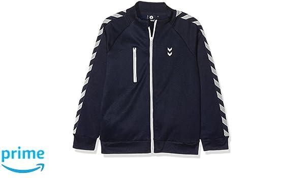 Hummel Joven Zipper - Junior V Grand Zip - Chaqueta de Manga Larga Azul -  Jersey con Cremallera - baumwollshirt Tiempo Libre para Niños   Sport   Amazon.es  ... 1725ee5e3a7df