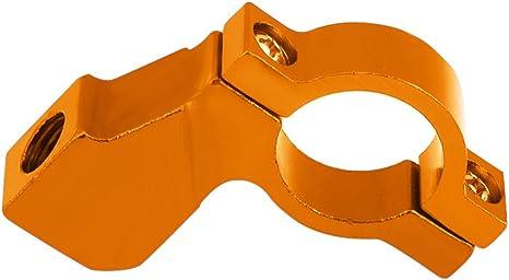 Yellow lega universale in alluminio 7//8attacco per specchietto retrovisore per attacco specchietto retrovisore per moto Adattatore per specchietto retrovisore