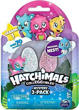 Hatchimals CollEGGtibles Season 1 2-Pack + Nest