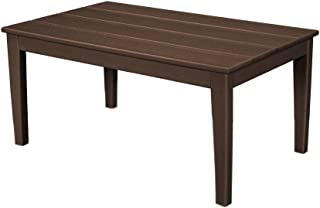 """product image for POLYWOOD Newport 22"""" x 36"""" Coffee Table, Mahogany"""