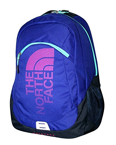 The North Face Unisex Haystack Laptop Backpack Book Bag (LAPIS BLUE) (Blue Lapis Handle)