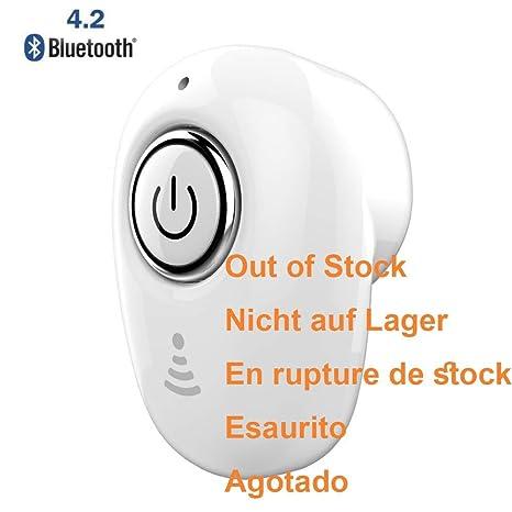 Auriculares Inalámbricos 5.0 Cascos Bluetooth con Micrófono CVC 6.0, Funda de Carga, YHAO I9