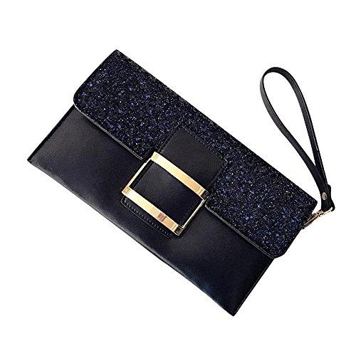 Aoligei Bolso Coreano versión mujer del pequeño paquete moda solo hombro oblicuo Cruz femenina del bolso A