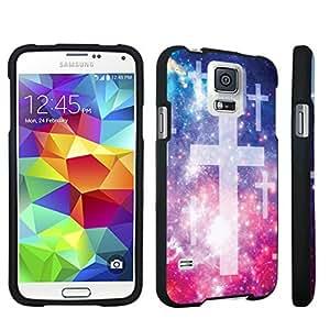DuroCase ? Samsung Galaxy S5 Hard Case Black - (Space Cross)