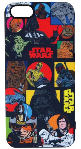 Star Wars Characters TPU iPhone 5 Case (Character Patterns)