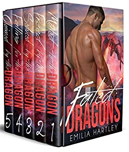 Fated Dragons Complete Series: Books 1 - 5 by [Hartley, Emilia]