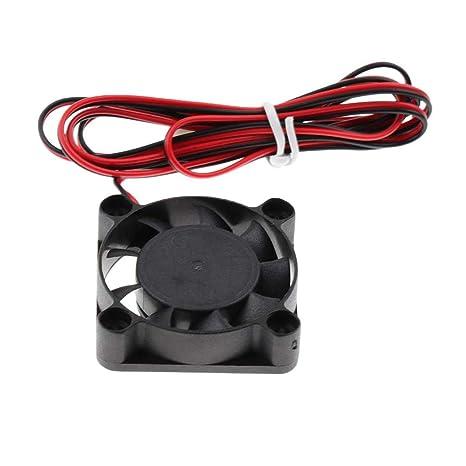 Ultrasilencioso 24 V 4010 DC Ventilador de refrigeración Brushless ...
