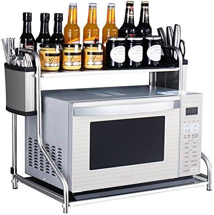 JXXDDQ - Soporte de horno para microondas, de acero inoxidable, para estante de cocina, soporte de pared B-53cm: Amazon.es: Hogar