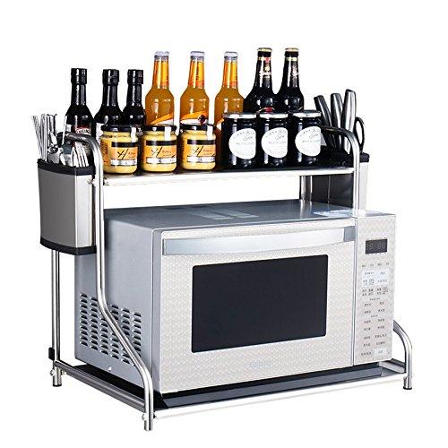 Zfggd-Estante de cocina Estante del Horno de microondas de Acero ...