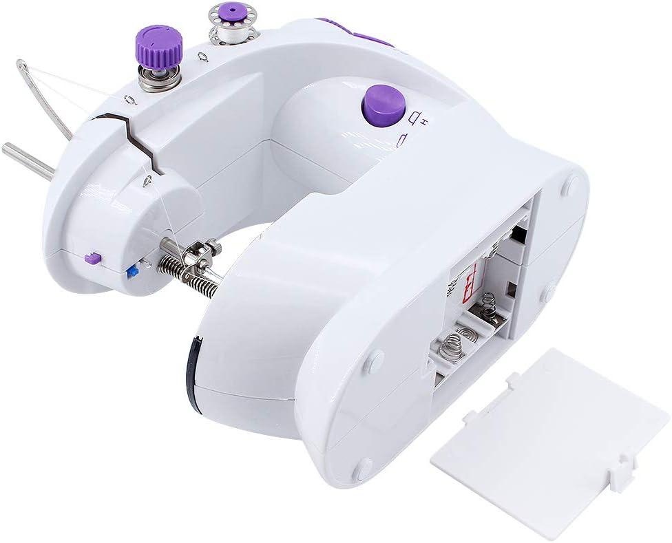 ShawFly Tragbare N/ähmaschine Home Mini Automatische Multifunktions-Desktop-Essdicke mit kleinem Desktop und Leichter N/ähmaschine