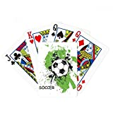 beatChong Play Soccer Football Sports Poker Playing Card Tabletop Board Game Gift