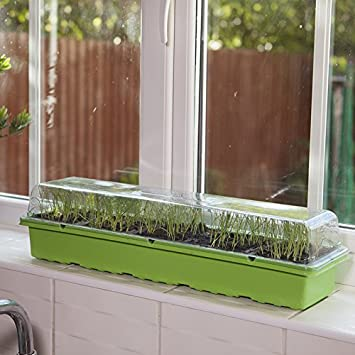 PlantPak Windowsill Propagator Kit Indoor Greenhouse 3 Sets For 90 Plants