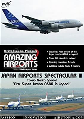 AirUtopia:First A380 in Japan-Airport Video DVD-(Airplanes, planes, Aircrafts) by David Maxwell
