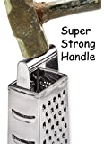 Box Grater Stainless Steel SUPER STRONG from The Asian Slice