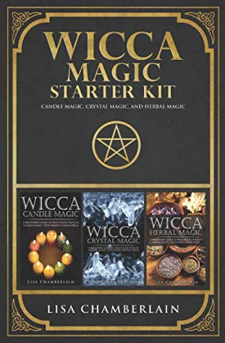 Wicca Magic Starter Kit: Candle Magic, Crystal Magic, and Herbal Magic by Chamberlain Publications