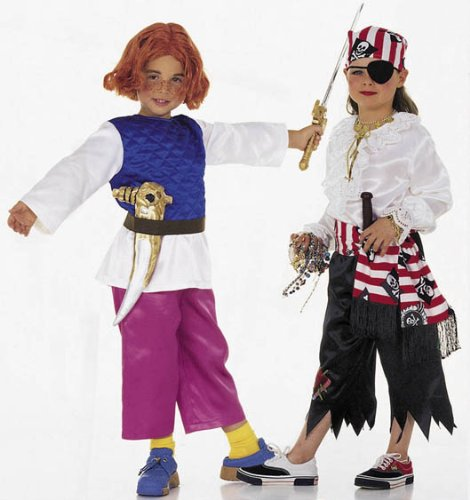 Burda 2494 Schnittmuster Kostÿm Fasching Karneval Zauberer Pirat